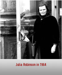 Julia Robinson: A Life in Mathematics